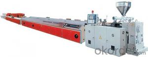 Plastic profile machine/PVC profile making machine/Profile making machine