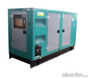 Volvo Diesel Generator setting