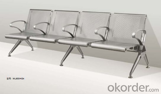 Latest Stainless Steel Waiting Chair 800-K04