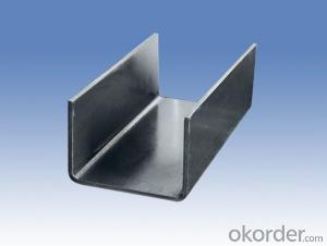 U Shape Steel with Customized Specifications