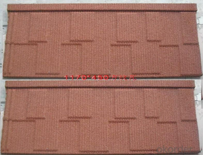 Best selling products in nigeria/Solar aluminium stone coated roof tile