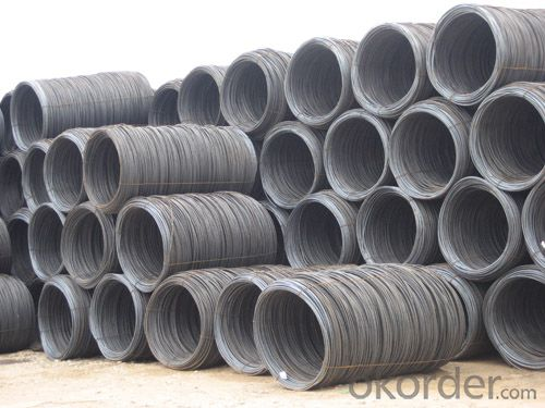 GB Standard Steel Wire Rod with High Quality 7mm-8mm