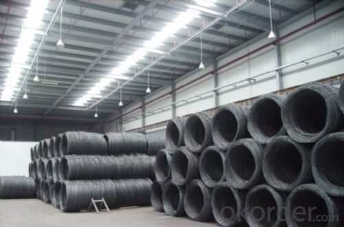 GB Standard Steel Wire Rod with High Quality 9mm-10mm