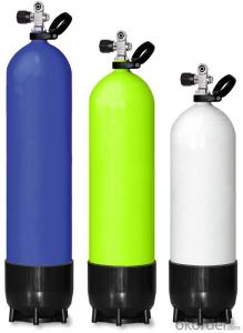 Diving cylinders for man