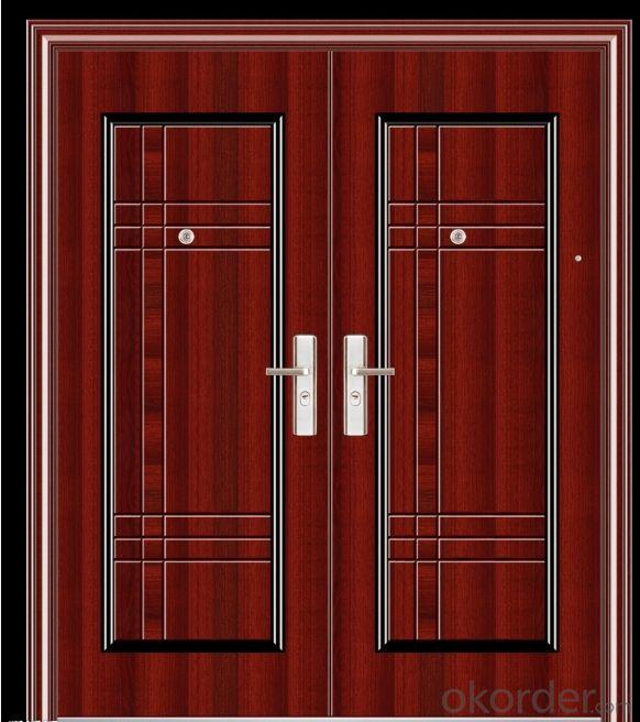 Iron Steel Security Metal Door 1707