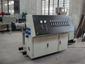 double wall corrugated pipe production line high speed big diameter plastic pe pipe product line