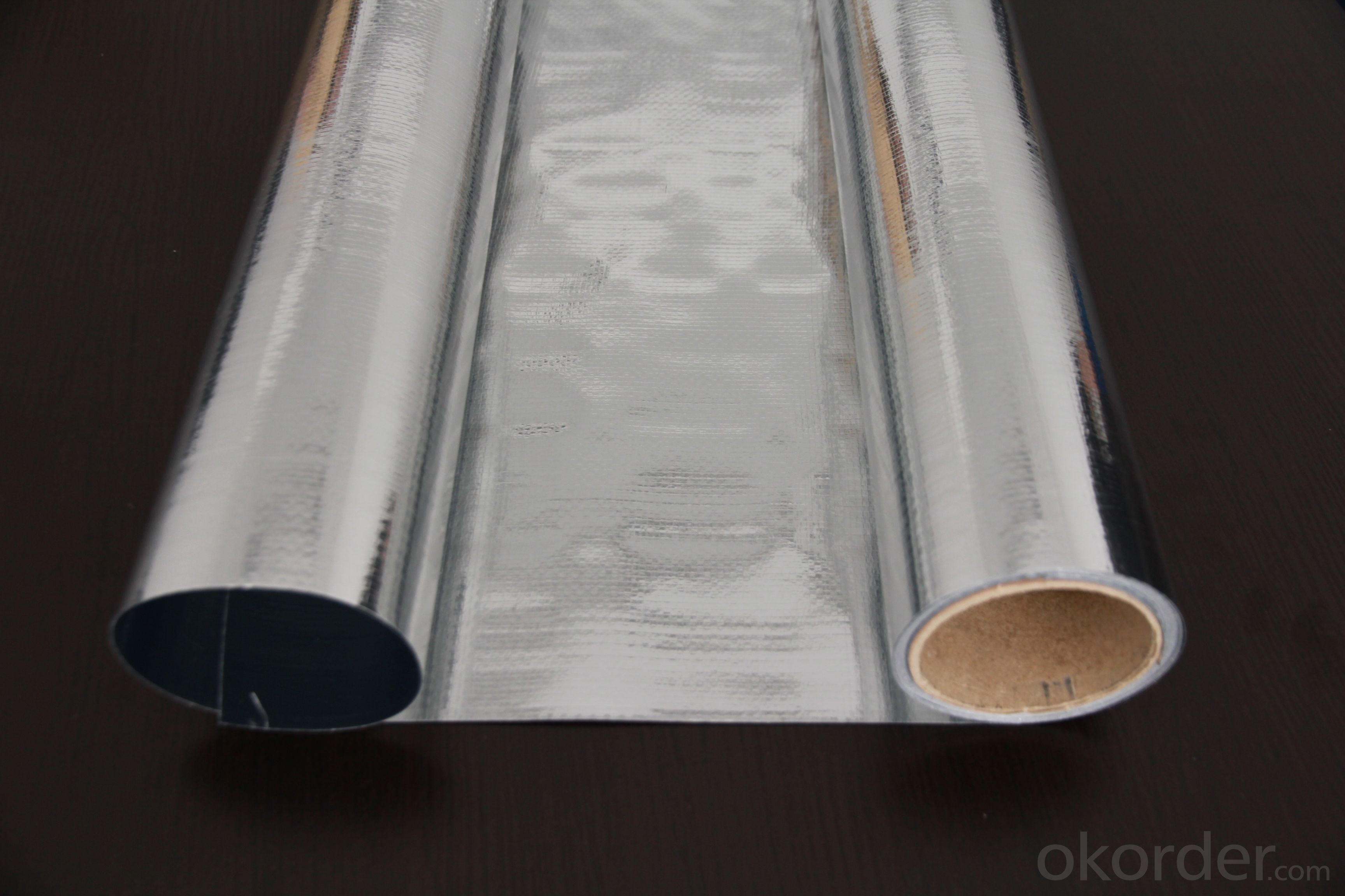 Buy Aluminum Foil Facing Double Sided Woven Price Size