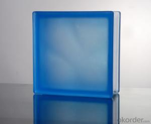 Glass Block (Misty Cloudy Blue)
