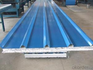 Corugated steel sheets