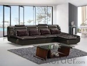 Leather sofa model-4