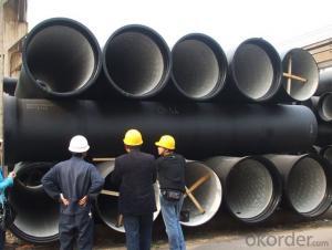 ISO2531 / EN545 / EN598 DCI Pipes