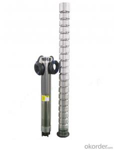 QJ Multistage Deep-well Submersible Water Pumps