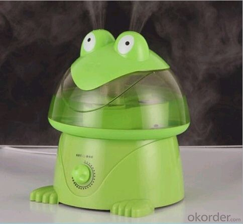 Manufacturers selling genuine Frestech frog cartoon humidifier ultrasonic air conditioning humidifying purifier ultra quiet