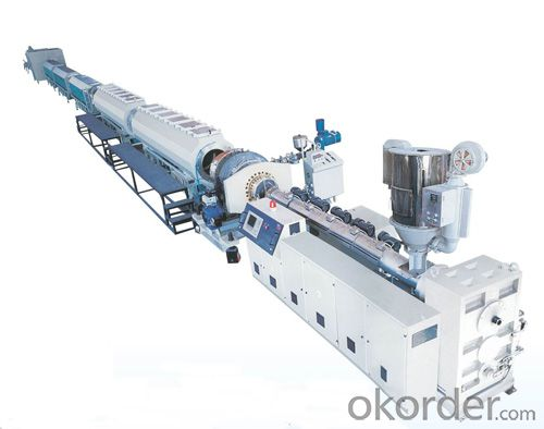 Supply Hot sale china PVC PPR PE plastic pipe production line(extrusion line/extruder machine/making machinery)