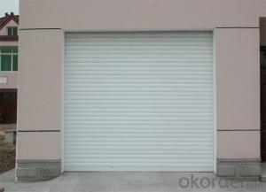 Steel Sectional Garage Door with Top Quality