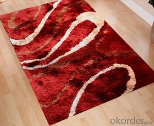 Polyester Silk Shaggy Carpet