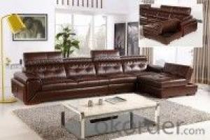 Leather sofa model-5