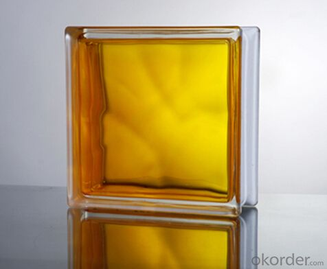 Glass Block (In-colored Yellow)