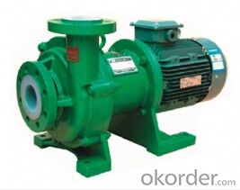 CQB 65-50-150F Fluoroplastic Alloy Magnetic Pump