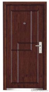 Hot Sale Steel Wooden Armored Doors