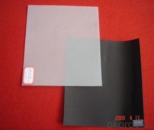 CJ / T234-2006 2.5mm glossy green HDPE geomembrane