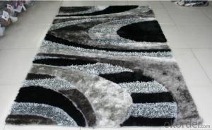Grey Chinese Knot Carpet