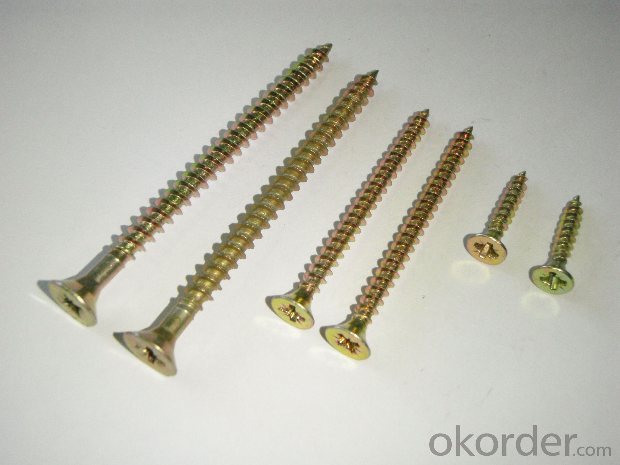 High Quality Stainless Steel Chipboard Screw