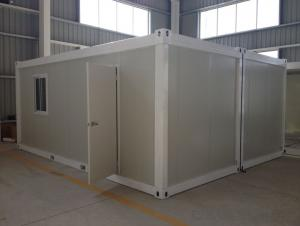 Container House 20ft Standard Size Flat Pack EPS Containers 50mm Thickness