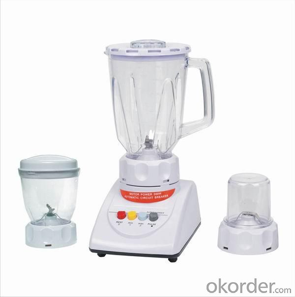 Multi-functional Blender with 1.5L large jar with dry/wet ginder three functions