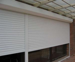 Iron Automatic Sectional Garage Door