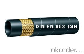 Wire Braided Hydraulic Hose EN853 1SN