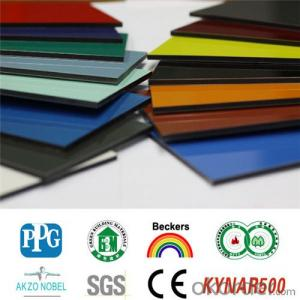 ACP PVDF Coated Aluminium Composite Panel