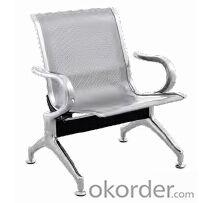 Hot Sale Stainless Steel Waiting Chair D8301F-1