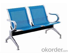Hot Sale Stainless Steel Waiting Chair F01
