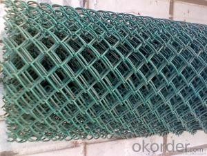 High Quality PVC Coated Chain Link Fence