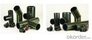 Plastic Pipe -PE Gas Pipe Fittings