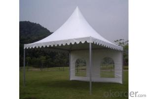Simple tarpaulin tent