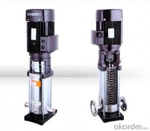 CDL/CDLF vertical multistage pumps
