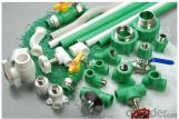 Plastic Pipe-PPR Pipe Fittings (green)