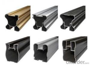 Industrial aluminium extrusion profiles