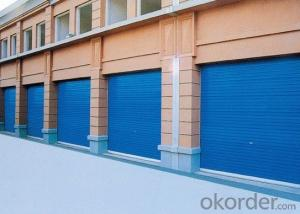 Overhead Sectional Garage Door with Good Quality