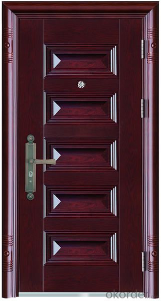 Steel Safety Door for Flats