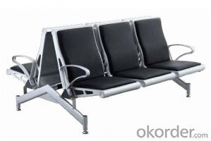 Hot Sale Stainless Steel Waiting Chair B8301F-1