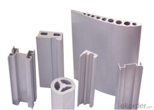 powder coated aluminum profile extrusion
