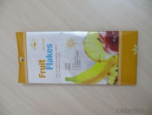 Color Printed Laminated Plastic Packaging Bag For Flour Powder