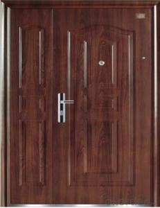 Steel Security Door for Flats
