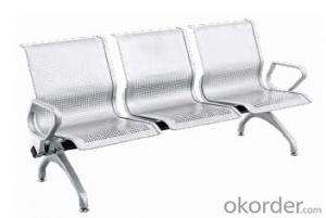 Hot Sale Stainless Steel Waiting Chair WQ03F-1