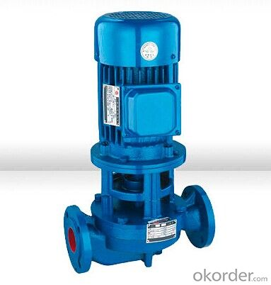 ISG Vertical Centrifugal Pumps