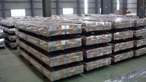 galvanized steel panel