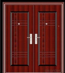 Good Quality Iron Security Metal Door for Sale